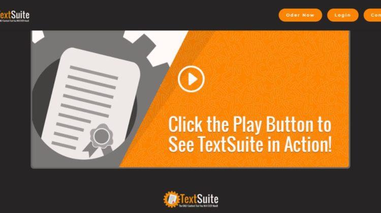 textsuite screen